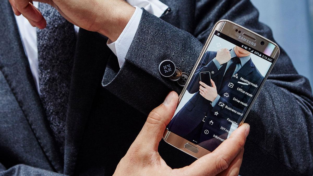 I vestiti intelligenti di Samsung sono caricati dai movimenti umani
